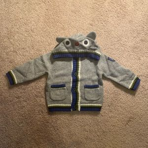 NWT Gymboree Owl Sweater